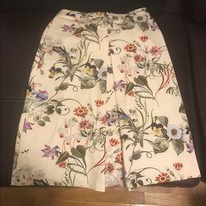 Catherine Malandrino Center Front Box Pleat Skirt
